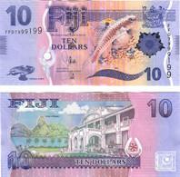 Fiji 10 Dollars 2013 UNC - Fiji