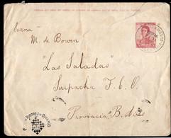Argentina - 1918 - Lettre - General San Martin - 5 Ctv - A1RR2 - Briefe U. Dokumente