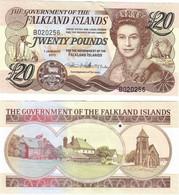 Falkland Islands 20 Pounds 2011 UNC - Falkland Islands
