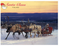 (KK 3) Finland - Posted To Australia - Santa Claus - Kerstman