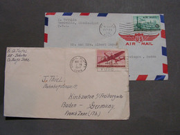 US 2 Alte Brief 1947 - Briefe U. Dokumente