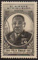 Détail De La Série - Gouverneur - Général Félix Eboué Obl. Nouvelles Calédonie N° 257 - 1945 Gouverneur-Général Félix Éboué