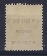 France Marque Dorsale Ld SEE Fils Banquiers Paris Sur Ceres Nr. 38 , Condition Voir 2 Scans !  LOT 373 - 1870 Besetzung Von Paris