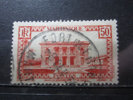 """VEND BEAU TIMBRE DE MARTINIQUE N° 144 , OBLITERATION """" FORT-DE-FRANCE """" !!! (b) - Oblitérés"""