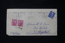 FRANCE - Taxes De St Raphael Sur Enveloppe De Paris En 1951 - L 90486 - Lettres Taxées