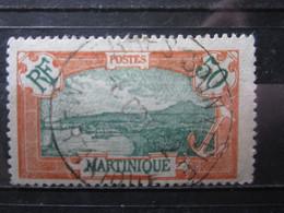 """VEND BEAU TIMBRE DE MARTINIQUE N° 101 , OBLITERATION """" TERRES SAINVILLE """" !!! (b) - Oblitérés"""
