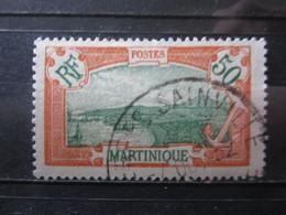 """VEND BEAU TIMBRE DE MARTINIQUE N° 101 , OBLITERATION """" TERRES SAINVILLE """" !!! (d) - Oblitérés"""