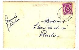 44208 - ABBAYE DE  MAREAS - Cartas