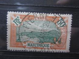 """VEND BEAU TIMBRE DE MARTINIQUE N° 101 , OBLITERATION """" SAINT-PIERRE """" !!! (a) - Oblitérés"""