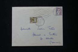 FRANCE - Taxe De Abbeville Sur Enveloppe De Domart En Ponthieu En 1963 - L 90492 - Lettres Taxées