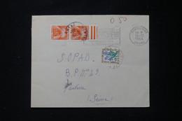 FRANCE - Taxes De Nanterre Sur Enveloppe De Montelimar En 1964 - L 90495 - Lettres Taxées