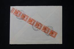 FRANCE - Taxes En Bande De 6 De Montesson Au Verso D'une Enveloppe De St Gratien En 1965 - L 90497 - Lettres Taxées