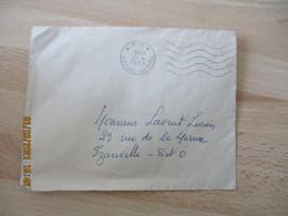 Pp P P Port Paye Gaillac 5 Lignes Ondulees Sur Enveloppe  Commerciale - 1921-1960: Moderne