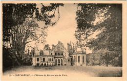 6BT 519. CONCARNEAU - CHATEAU DE KERIOLE VU DU PARC - Concarneau