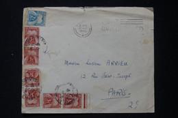 FRANCE - Taxes De Paris Sur Enveloppe De Londres En 1946 - L 90500 - Lettres Taxées
