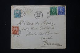 FRANCE - Taxes De Malo Les Bains Sur Enveloppe Du Royaume Uni En 1950 - L 90502 - Lettres Taxées