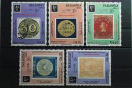 Paraguay 4440-4444 ** Postfrisch #TQ054 - Paraguay