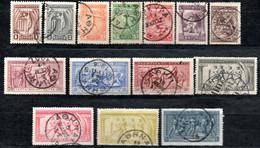 98.GREECE.1906 OLYMPIC GAMES.Y.T.165-178,SC.184-197 - Non Classés