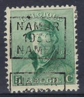 Koning Albert I Met Helm Nr. 167 Voorafgestempeld Nr. 5271 C NAMUR 1930 NAMEN ; Staat Zie Scan ! - Roulettes 1930-..