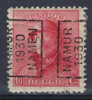 Koning Albert I Met Helm Nr. 168 Voorafgestempeld Nr. 5273 A  NAMUR 1930 NAMEN ; Staat Zie Scan ! RRR - Roulettes 1930-..