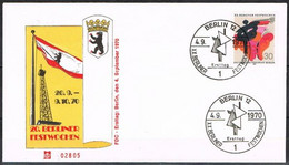 [C0118] Berlín 1970; FDC Festival Artístico (NS) - FDC: Enveloppes