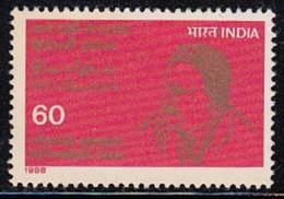 INDIA 1988 STAMP MOHAMMAD IQBAL (POET)  . MNH - Neufs