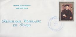 Enveloppe  FDC  1er  Jour   CONGO    Richard   WAGNER    1984 - FDC