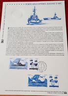 France FDC 2009 Yvert 4423 Et 4424 Navire Porte Hélicoptères Jeanne D' Arc - Bateau Marins - 2000-2009