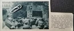 DEURNE..1938.. OP DE STERCKXHOEVE GEEFT JAN BARD VOORSTELLINGEN MET HET POPPENSPEL - Sin Clasificación