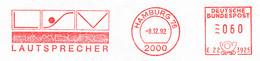 Freistempel Kleiner Ausschnitt 537 Lautsprecher - Marcofilia - EMA ( Maquina De Huellas A Franquear)
