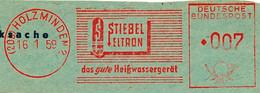 Freistempel Kleiner Ausschnitt 540 Stiebel Eltron Heißwassergerät - Marcofilia - EMA ( Maquina De Huellas A Franquear)