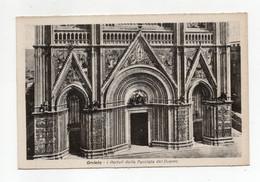 Orvieto (Terni) - I Portali Della Facciata Del Duomo - Non Viaggiata - (FDC28747) - Terni