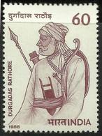 INDIA 1988 STAMP DURGADAS RATHORE   . MNH - Neufs