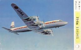"""CPA - Douglas DC 7 C """" City Of San Francisco """"- Compagnie Air France - Carte Japan Air Lines - 1946-....: Modern Era"""