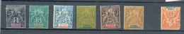 Ste Marie Mad 1 - YT 1 * - 4 * - 6 * - 7 * - 8 *  - 9 * - Le YT 10 ( 40 C) Non Compté Offert - Unused Stamps