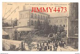 CPA - VIRTON En 1906 - Ecole Normale Et Pensionnat - Les Cours Intérieures - Luxembourg Belgique - Edit. Nels Bruxelles - Virton