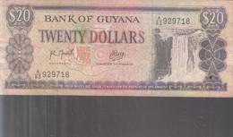 Guyana - 20 Dollars - Guyana