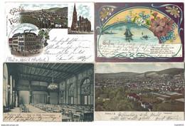Allemagne - FREIBURG Im BREISGAU - Lot De 8 CPA - 1896 à 1907 - Freiburg I. Br.