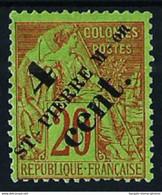 St.Pedro Y Miquelón Nº 41 Nuevo(*) Cat.15€ - Unused Stamps