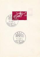Schweiz Suisse 1948: Zu 283 Mi 498 Yv 455 Auf PTT-Folder Mit O BERN - 100 JAHRE BUNDESSTAAT 14.III.48 - Briefe U. Dokumente