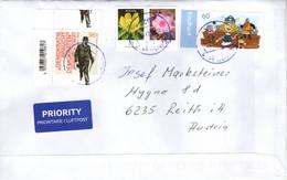 Auslands -Brief Von 89231 Neu - Ulm Mit 170 Cent Mischfrankatur 2021 - Storia Postale