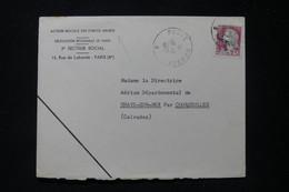 FRANCE - Oblitération Poste Navale Sur Enveloppe Des Actions Sociales Des Armées En 1962 Pour Grayes /Mer - L 90571 - Seepost