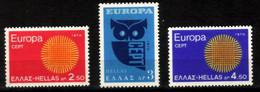 Grèce 1970 Europa 1020/1022** - Ungebraucht