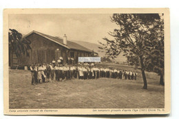 Vaumarcus - Camp Unioniste Romand - 1926 Used Switzerland Postcard - NE Neuchatel