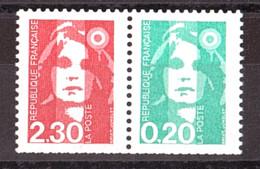 France - 1990 - N° P2614 (2614 + 2618) - Neuf ** - Marianne Du Bicentenaire - Unused Stamps
