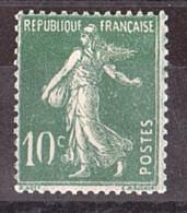 """Variété """"0"""" Brisé En Bas Sur N°159 Neuf ** -  Semeuse 10 Cts Vert - Variétés: 1921-30 Neufs"""