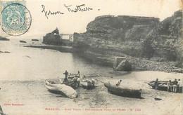 CPA 64 Pyrénées Atlantiques Biarritz Port Vieux Préparatifs Pour La Pêche - Biarritz