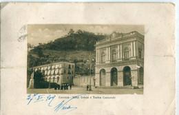 ITALIE / ITALIA - Cosenza : Hotel Vetere E Teatro Comunale - Cosenza