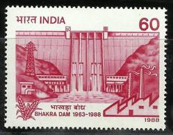 INDIA 1988 STAMP BHAKRA DAM  . MNH - Neufs