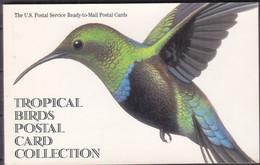 F1340 - ETATS UNIS BIRDS STAMP 1997 CARNET DE 20 CARTES POSTALES - 20 READY TO MAIL POST CARDS (registered Shipment Only - 1981-00